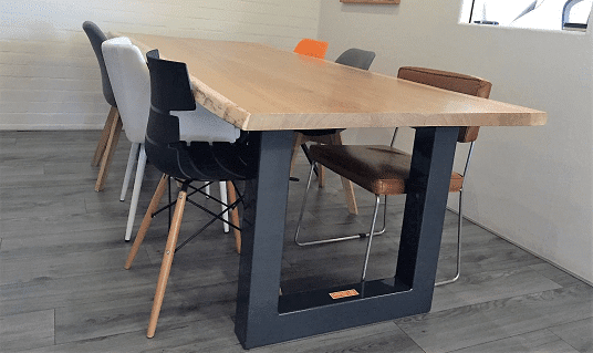 Eikenhouten tafel op maat laten maken for Tafel laten maken